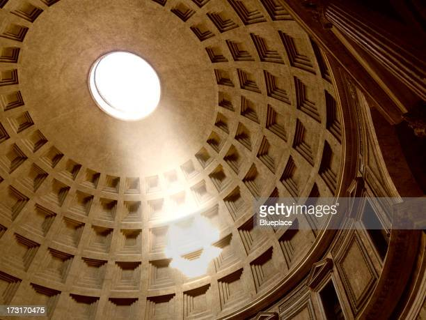Pantheon, interno. Roma, Italia