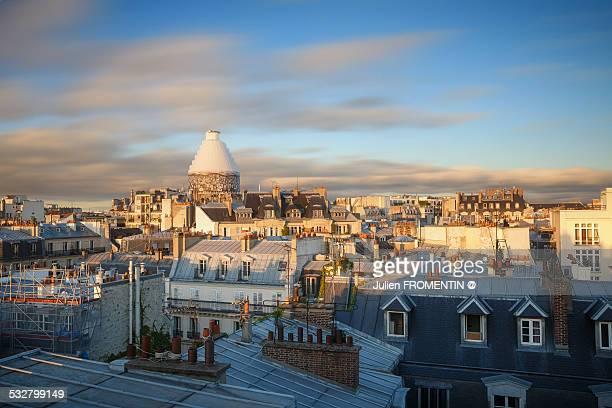 Pantheon, Rooftop of Paris