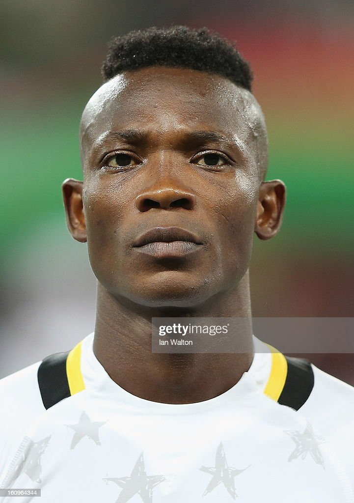 Pantsil John of Ghana during the 2013 Africa Cup of Nations Semi-Final match between Burkina Faso and Ghana at the Mbombela Stadium on February 6, 2013 in Nelspruit, South Africa.