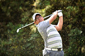 Panuphol Pittayarat of Thailand during the final round of the 2015 Thailand Open at Amata Spring Country Club on December 13 2015 in Chon Buri...