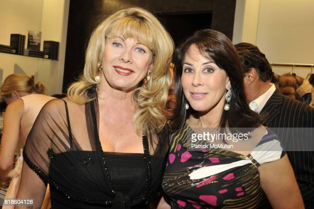 Paola Bacchini and Catherine Adler attend Book Party for THE SUMMER WE READ GATSBY by Danielle Ganek at Dennis Basso on June 2 2010 in New York City
