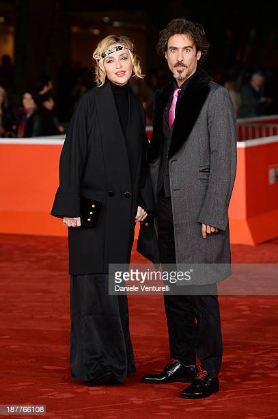 Paola Barale and Raz Degan attend 'Out Of The Furnace' Premiere during The 8th Rome Film Festival on November 12 2013 in Rome Italy