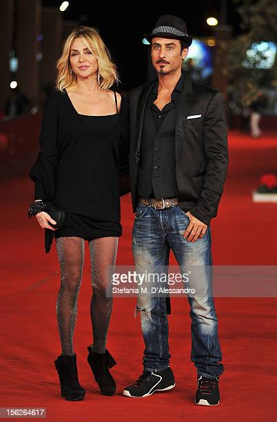 Paola Barale and Raz Degan attend 'The Lookout' Premiere during the 7th Rome Film Festival at the Auditorium Parco Della Musica on November 12 2012...