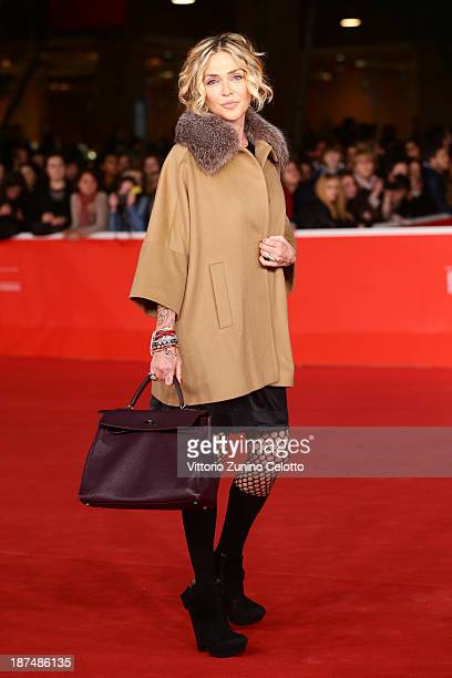 Paola Barale attends 'Dallas Buyers Club' Premiere And Vanity Fair Award during The 8th Rome Film Festival at Auditorium Parco Della Musica on...