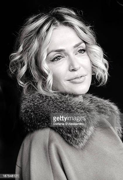 Paola Barale attends the 'Dallas Buyers Club' Premiere during The 8th Rome Film Festival at Auditorium Parco Della Musica on November 9 2013 in Rome...