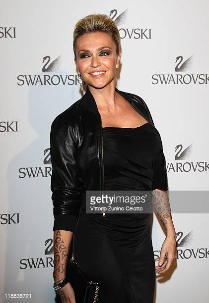 Paola Barale attends the Swarovski Fashionation at Palazzo Reale on June 7 2011 in Milan Italy