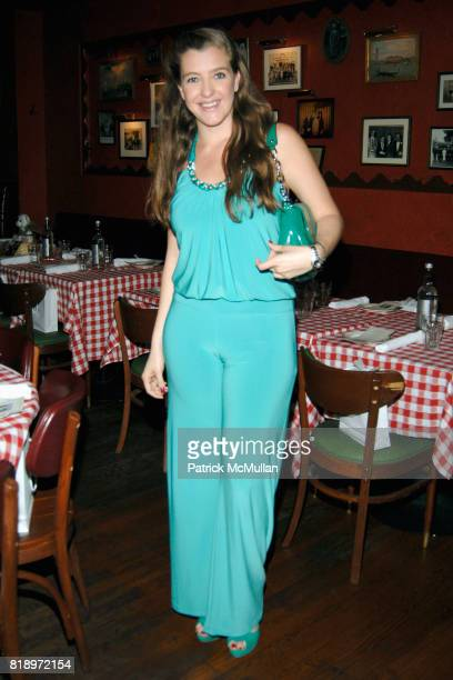 Paola Congote attends Sharon Lauren Ashley Bush Host Luncheon in Celebration of the FEED Bears Sponsored by DIOR BEAUTY llanllyr SOURCE at The East...