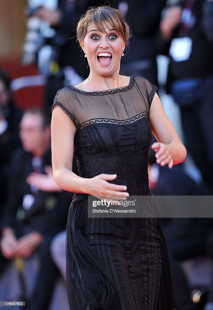 Paola Cortellesi attends 'La Jalousie' Premiere at the 70th Venice International Film Festival on September 5, 2013 in Venice, Italy.