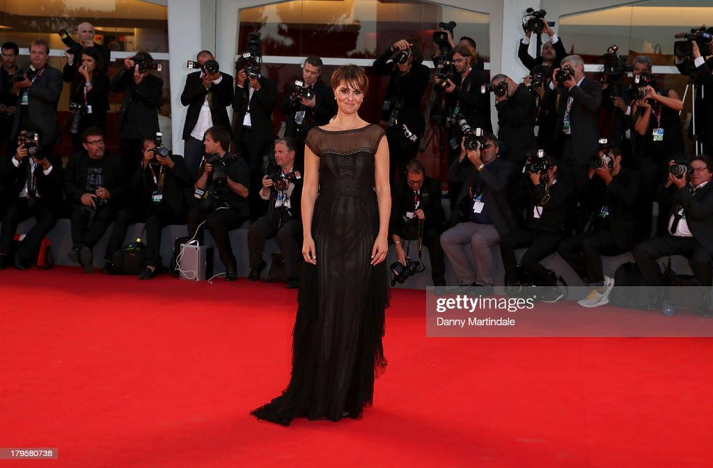 Paola Cortellesi attends 'La Jalousie' Premiere during the 70th Venice International Film Festival at the Sala Grande on September 5, 2013 in Venice, Italy.