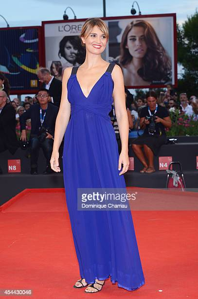 Paola Cortellesi attends the 'Hungry Hearts' premiere during the 71st Venice Film Festival on August 31 2014 in Venice Italy