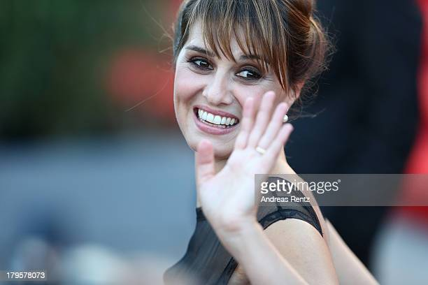 Paola Cortellesi attends the 'Jealousy' Premiere during the 70th Venice International Film Festival at the Palazzo del Cinema on September 5 2013 in...