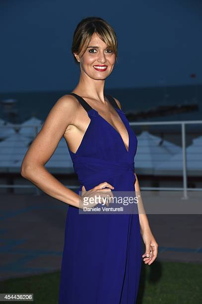 Paola Cortellesi attends the Kineo Award during the 71st Venice Film Festival on August 31 2014 in Venice Italy