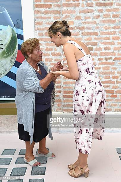 Paola Cortellesi attends the Kineo Award Photocall during the 71st Venice Film Festival at Hotel Excelsior on August 31 2014 in Venice Italy