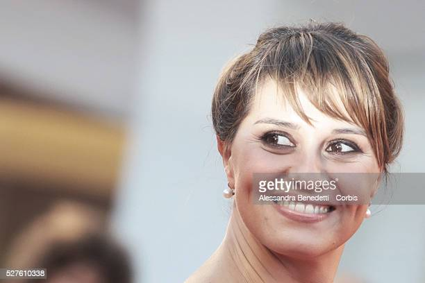 Paola Cortellesi attends the premiere of movie La Jalousie presented in competition at the 70th International Venice Film Festival