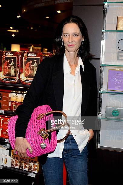 Paola Dominguin visits the new 'Gourmet Space' in the El Corte Ingles store on May 18 2010 in Madrid Spain