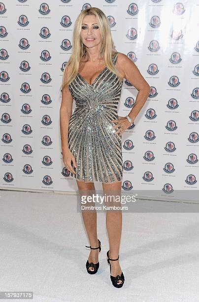 Paola Ferrari attends a private dinner celebrating Remo Ruffini and Moncler's 60th Anniversary during Art Basel Miami Beach on December 7 2012 in...