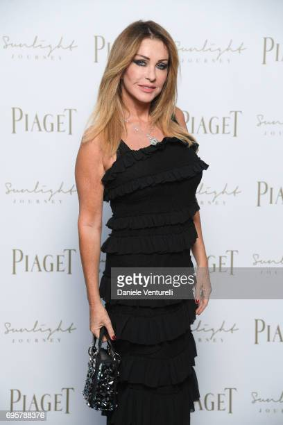 Paola Ferrari attends Piaget Sunlight Journey Collection Launch on June 13 2017 in Rome Italy