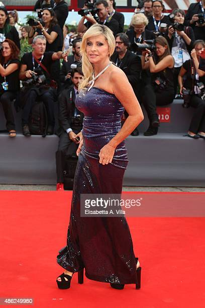 Paola Ferrari attends the opening ceremony and premiere of 'Everest' during the 72nd Venice Film Festival on September 2 2015 in Venice Italy