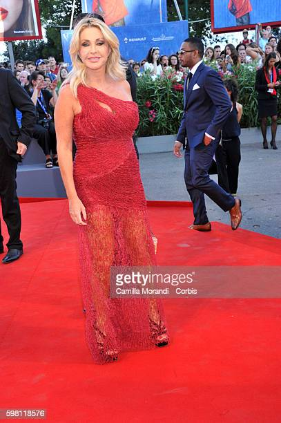 Paola Ferrari attends the opening ceremony and premiere of 'La La Land' during the 73rd Venice Film Festival at Palazzo del Casino on August 31 2016...