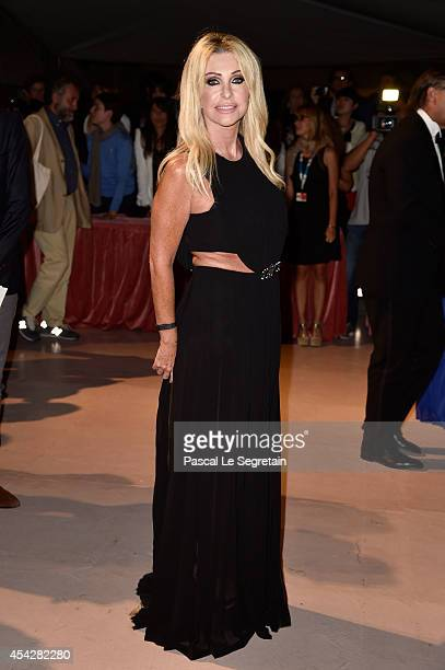 Paola Ferrari attends the Opening Dinner during the 71st Venice Film Festival on August 27 2014 in Venice Italy