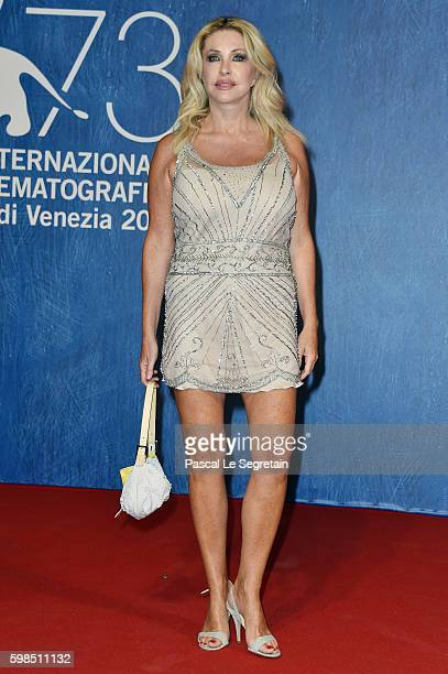 Paola Ferrari attends the premiere of 'Summertime' during the 73rd Venice Film Festival at Sala Giardino on September 1 2016 in Venice Italy