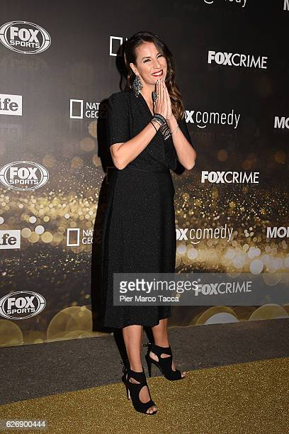 Paola Iezzi attends Fox Tv schedule presentation on November 30 2016 in Milan Italy
