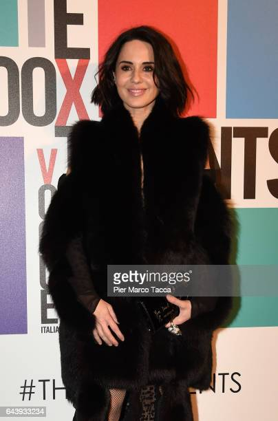 Paola Iezzi attends Next Talents Vogue during Milan Fashion Week FW17 on February 22 2017 in Milan Italy