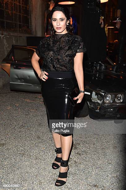 Paola Iezzi attends the Givenchy #GRTmilano17 party during the Milan Fashion Week Spring/Summer 2016 on September 25 2015 in Milan Italy