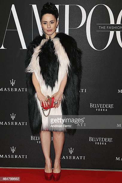 Paola Iezzi attends the 'The Misia Ball' Lampoon Launch Party during the Milan Fashion Week Autumn/Winter 2015 on February 28 2015 in Milan Italy