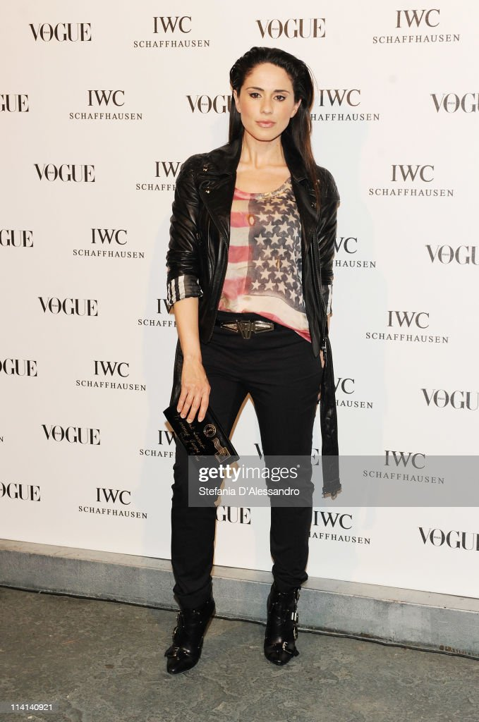 Paola Iezzi attends Vogue and IWC present 'Peter Lindbergh's Portofino' at 10 Corso Como on May 12, 2011 in Milan, Italy.