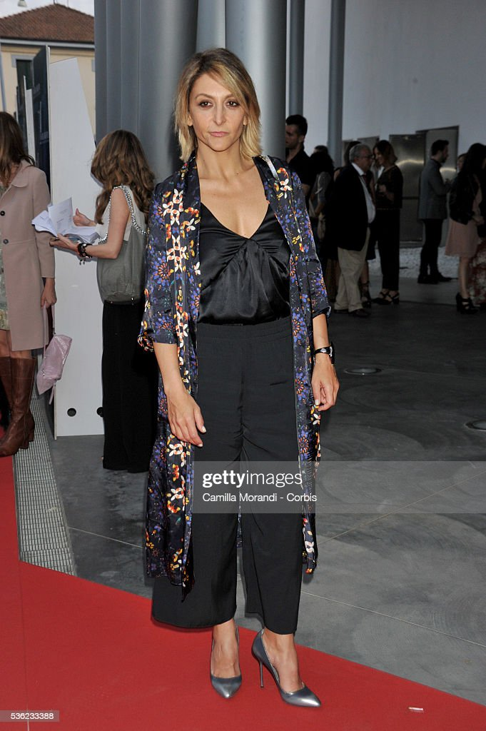 Paola Minaccioni attends Nastri D'Argento 2016 Award Nominations on May 31, 2016 in Rome, Italy.