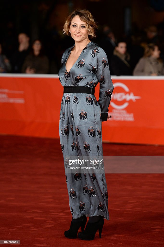 Paola Minaccioni attends 'Out Of The Furnace' Premiere during The 8th Rome Film Festival on November 12, 2013 in Rome, Italy.