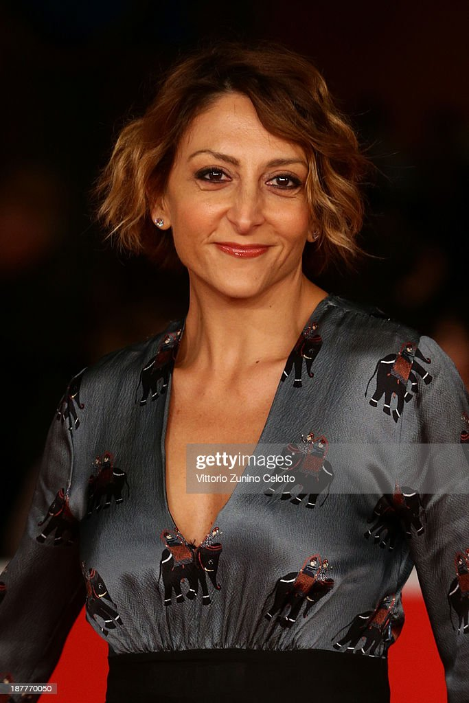 Paola Minaccioni attends 'Out Of The Furnace' Premiere during The 8th Rome Film Festival at Auditorium Parco Della Musica on November 12, 2013 in Rome, Italy.