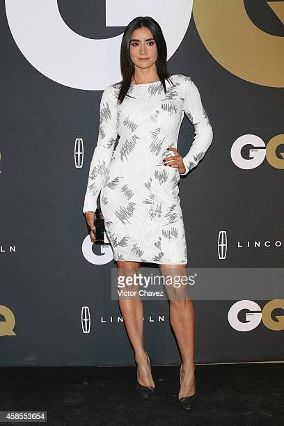 Paola Núnez attends GQ Men Of The Year Awards 2014 on November 6 2014 in Mexico City Mexico