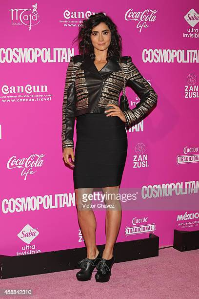 Paola Núnez attends the Cosmopolitan magazine anniversary at Auditorio BlackBerry on November 11 2014 in Mexico City Mexico