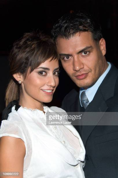 Paola Nuñez and Andres Palacios during TV Azteca 2006 2007 Upfront at Museum of Natural History in New York NY United States