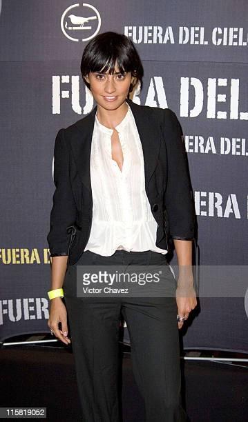 Paola Nuñez during 'Fuera Del Cielo' Mexico City Premiere Red Carpet at Cinemex Antara in Mexico City Mexico City Mexico