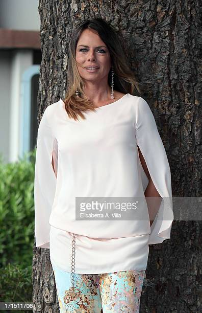 Paola Perego attends RAI Television 2013 / 2014 Programming Presentation at RAI Dear Studios on June 25 2013 in Rome Italy