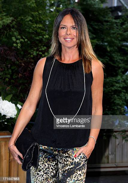 Paola Perego attends the RAI 2013 Programming Presentation on June 24 2013 in Milan Italy
