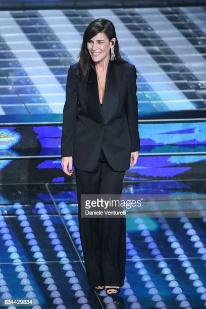 Paola Turci attends the third night of the 67th Sanremo Festival 2017 at Teatro Ariston on February 9 2017 in Sanremo Italy