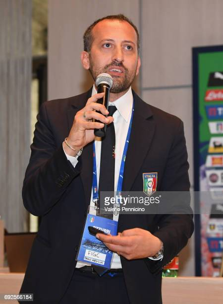Paolo Arsillo during FIGC Partners Day at Coverciano on June 5 2017 in Florence Italy