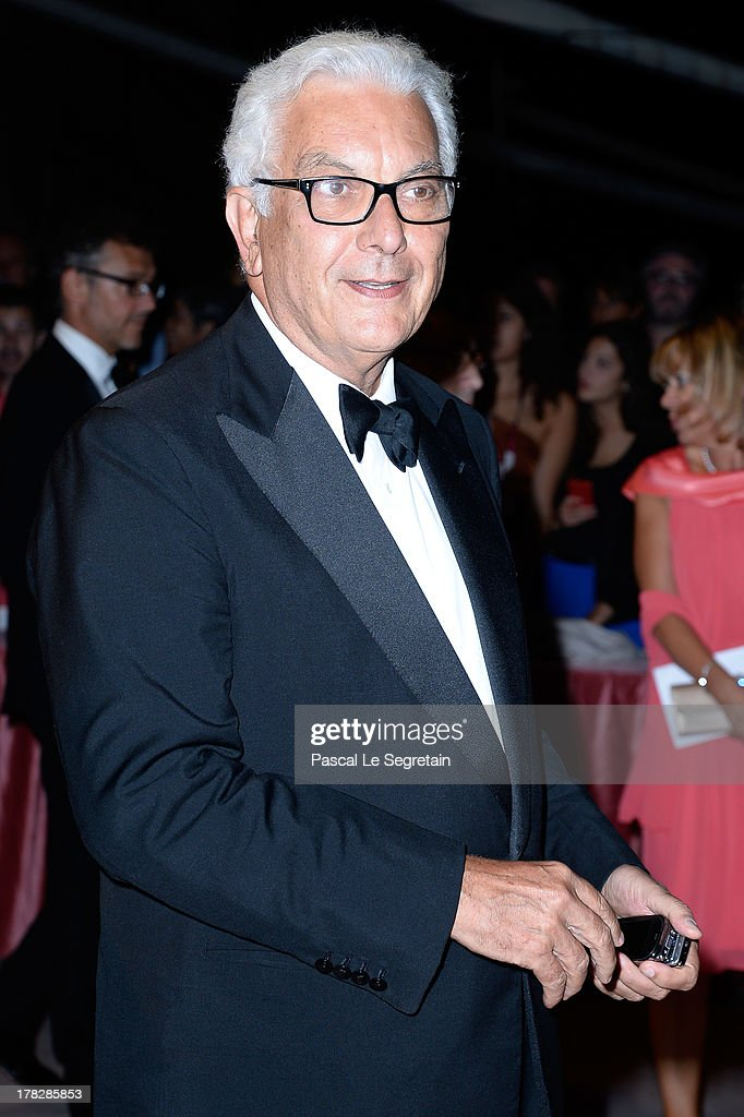 Paolo Baratta attends the Opening Dinner Arrivals during the 70th Venice International Film Festival at the Hotel Excelsior on August 28, 2013 in Venice, Italy.