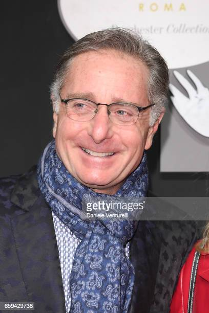 Paolo Bonolis attends Grand Opening Party Hotel Eden of Hotel Eden on March 28 2017 in Rome Italy