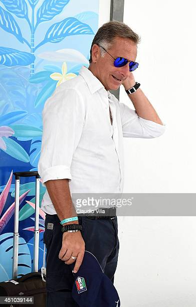 Paolo Bonolis attends press conference on June 22 2014 in Natal Brazil