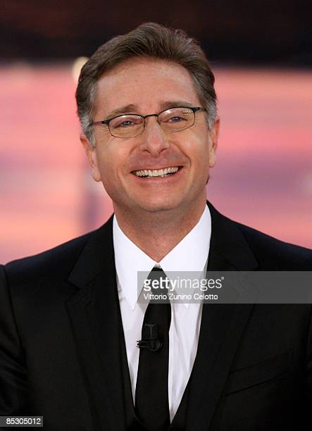 Paolo Bonolis attends the '2009 Oscar TV' Ceremony held at Teatro Ariston on March 8 2009 in San Remo Italy