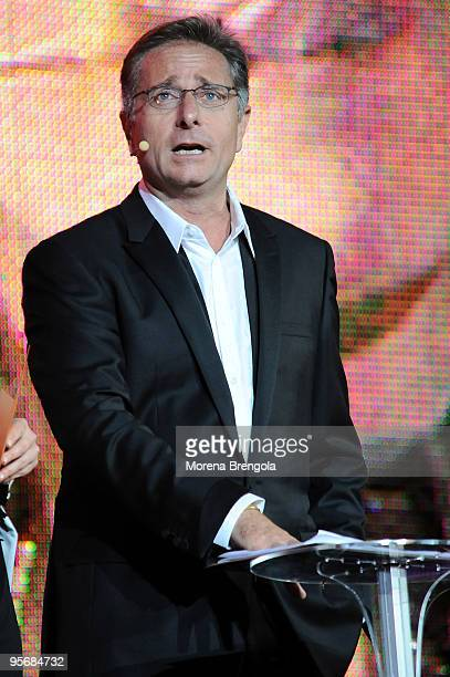 Paolo Bonolis during the Wind Music Awards on June 6 2009 in Verona Italy
