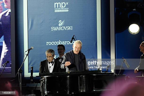 Paolo Conte attends the MSC Divina Cruise Ship Launch on May 26 2012 in Marseille France