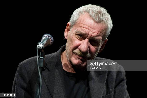 Paolo Conte performs on stage at L'Auditori on December 1 2011 in Barcelona Spain