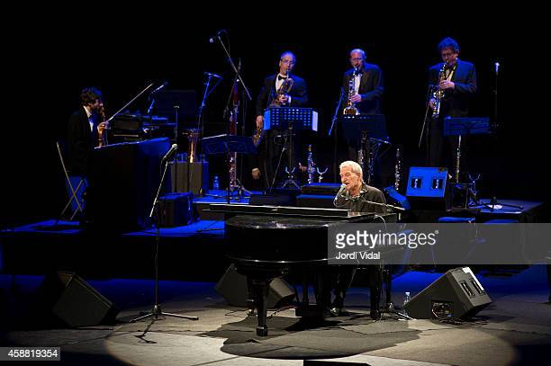Paolo Conte performs on stage at L'Auditori on November 11 2014 in Barcelona Spain