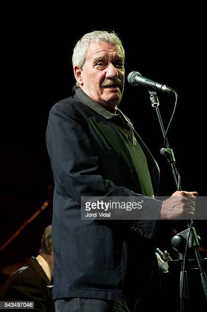 Paolo Conte performs on stage during Festival Jardins Palau de Pedralbes at Jardins Palau de Pedralbes on June 28 2016 in Barcelona Spain